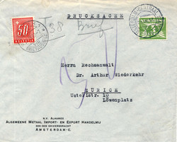 4610: Niederlande - Portomarken