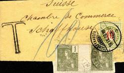 2705: Französisch Indochina Allgemeine Ausgaben - Portomarken