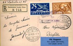 4480: Luftfahrt, Flugpost