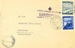 4745: Österreich - Portofreiheitsmarken