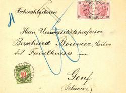 4745: Österreich - Portomarken