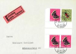 5655154: Schweiz Zusammenhängende - Stempel