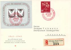 5658: Schweiz Blöcke - Engros
