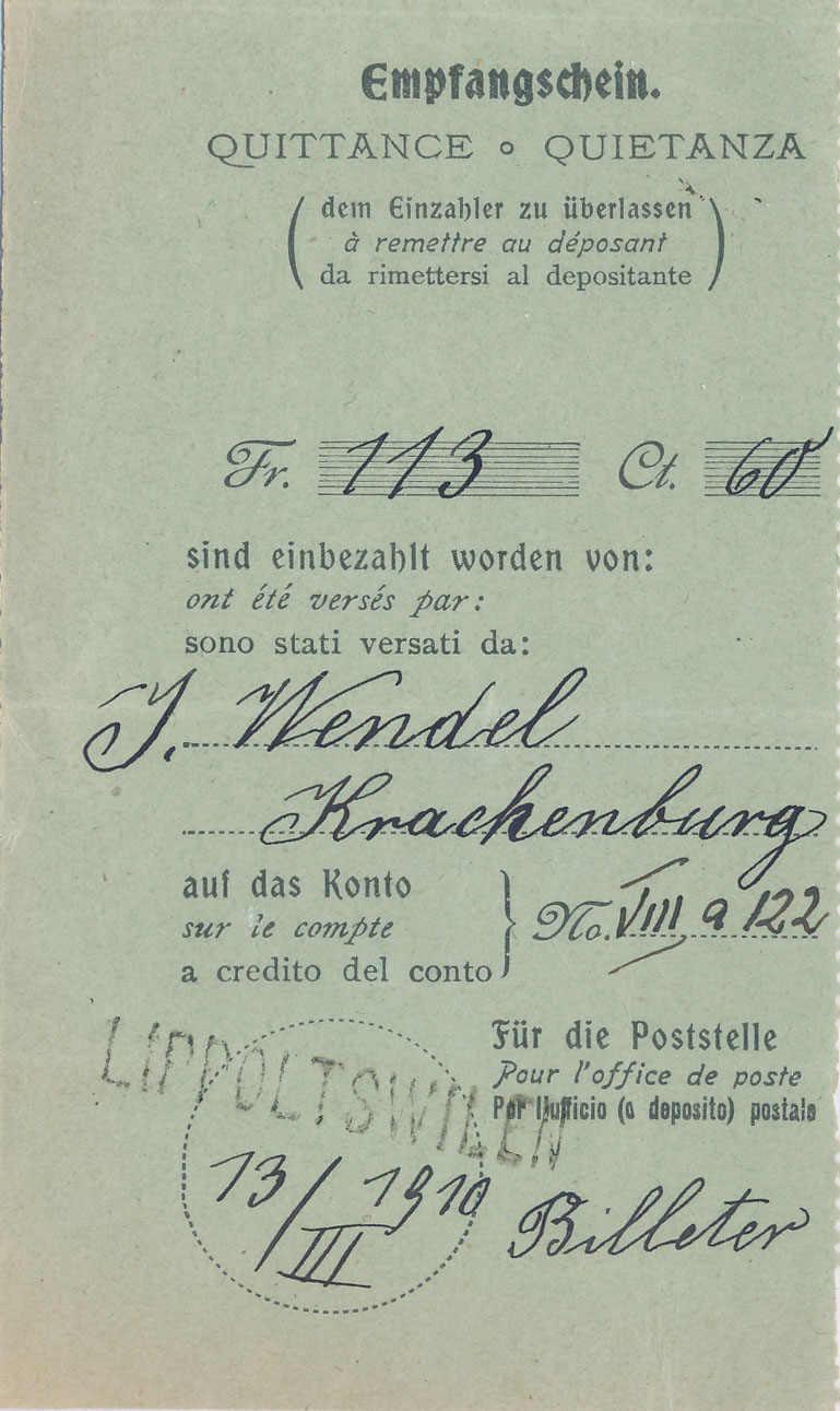 Lot 777 - F R A N K A T U R E N & ABSTEMPELUNGEN (ab ca. 1907)  -  MH Marken GmbH Auktion 118