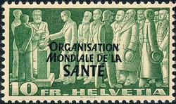 5700: Schweiz Weltgesundheitsorganisation OMS - Dienstmarken