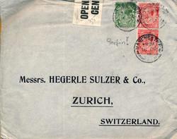 7758: Sammlungen und Posten Zensurpost - Lot