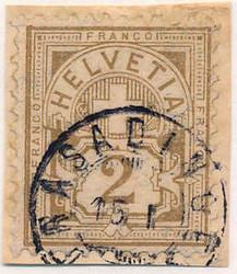 5655148: Schweiz Ziffermuster - Stempel