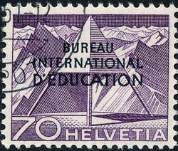5685: Schweiz Internationale Erziehungsamt BIE - Dienstmarken