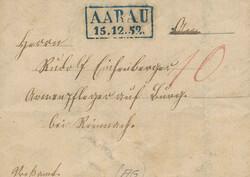 5655010: Schweiz Vorphilatelie - Stempel