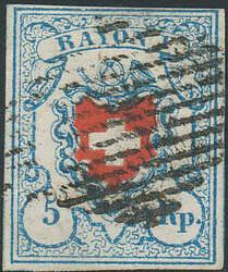 5655120: Rayon I, hellblau, ohne KE (DIVERSE) - Stempel