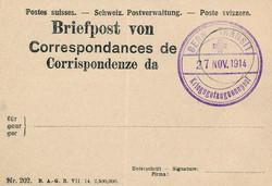 724: Kriegsgefangenenlagerpost - Eisenbahnmarken