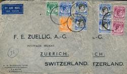 4235: Malaya - Briefe Posten