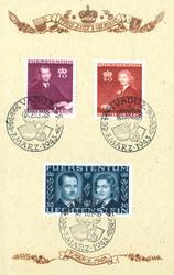 4175: Liechtenstein - Gedenkblätter