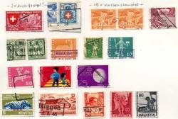 7650: Sammlungen und Posten Motive - Lot