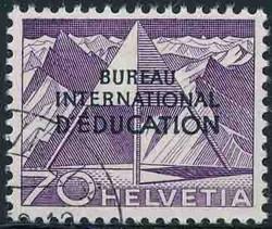 5685: Schweiz Internationale Erziehungsamt BIE - Stempel