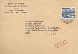 5675: Schweiz Europäisches Amt der Vereinten Nationen ONU - Dienstmarken