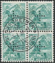 5665: Schweiz Dienstmarken für Bundesbehörden - Dienstmarken