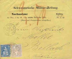 5655146: Schweiz Sitzende Helvetia gezähnt - Stempel