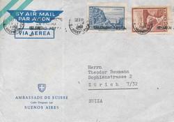 1715: Argentinien - Stempel