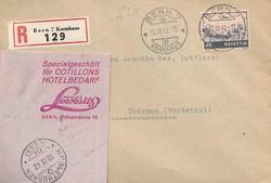 5659: Schweiz Flugpostmarken - Stempel