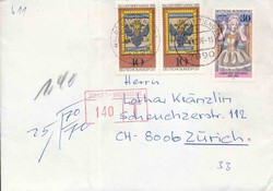 1420: Bundesrepublik Deutschland - Portomarken