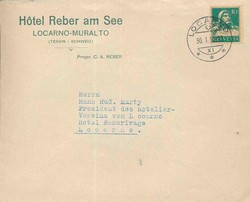 5655580: Schweiz Hotelpost - Stempel
