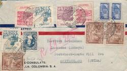 3930: Kolumbien - Stempel