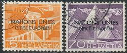 5675: Schweiz Europäisches Amt der Vereinten Nationen ONU - Lot