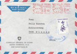 2410: Dominikanische Republik - Stempel