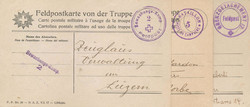7755: Sammlungen und Posten Feldpost - Militaerpostmarken