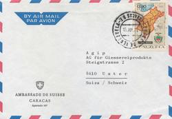 6640: Venezuela - Flugpostmarken