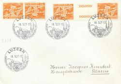 5655153: Schweiz Kehrdrucke - Stempel