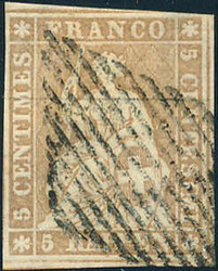 5655136: Strubel 1. Berner Druck dünnes Papier