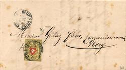 5655108: Rayon II, gelb, ohne Kreuzeinfassung (Diverse) - Briefe Posten