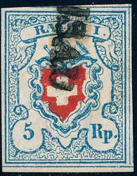 5655118: Rayon I, hellblau, ohne KE (STEIN C1) - Stempel