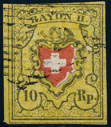 5655108: Rayon II, gelb, ohne Kreuzeinfassung (Diverse)