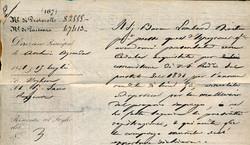 3395: Italien Staaten Sardinien - Dokumente