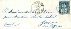 5655137: Strubel 4. Berner Druck - Stempel
