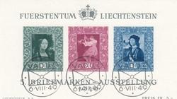 4175020: Liechtenstein Portomarken