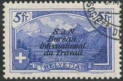 7242: Sammlungen und Posten Schweiz Dienstmarken - Lot