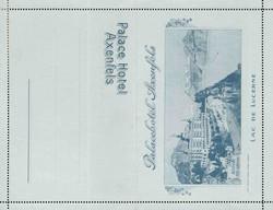 5655580: Schweiz Hotelpost - Privatganzsachen