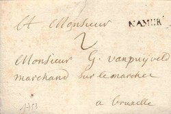 1810: Belgien - Stempel