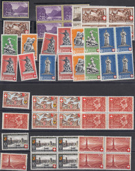 5657: Schweiz Pro Patria - Lot