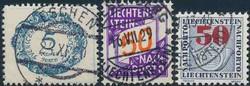 4175: Liechtenstein - Portomarken
