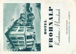 5655580: Schweiz Hotelpost - Dokumente