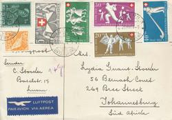 5657: Schweiz Pro Patria - Stempel