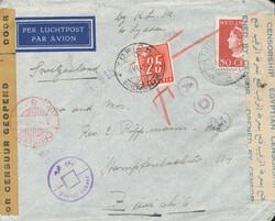 4635: Niederländisch Indien - Portomarken