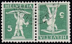 5655153: Schweiz Kehrdrucke - Zusammendrucke