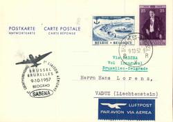 1810: 比利時 - Airmail stamps