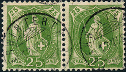 5655147: Schweiz Stehende Helvetia - Portomarken